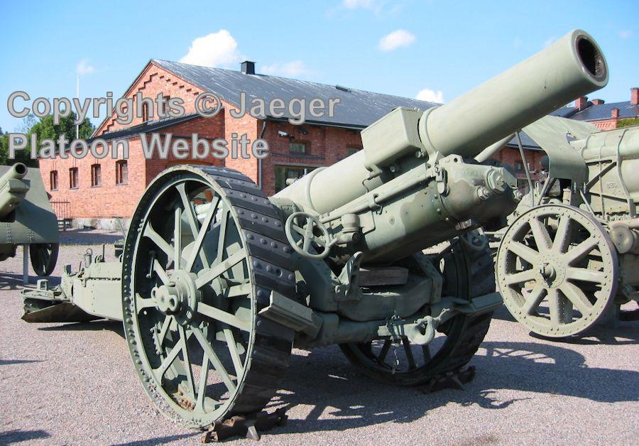 BL 8-inch howitzer Mk VI – VIII