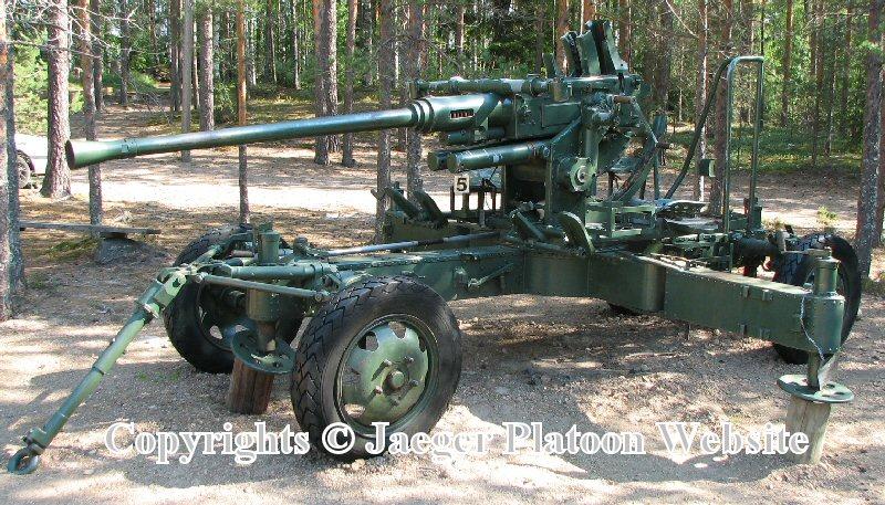 Anti-aircraft Gun Shell Bofors Anti-aircraft Gun