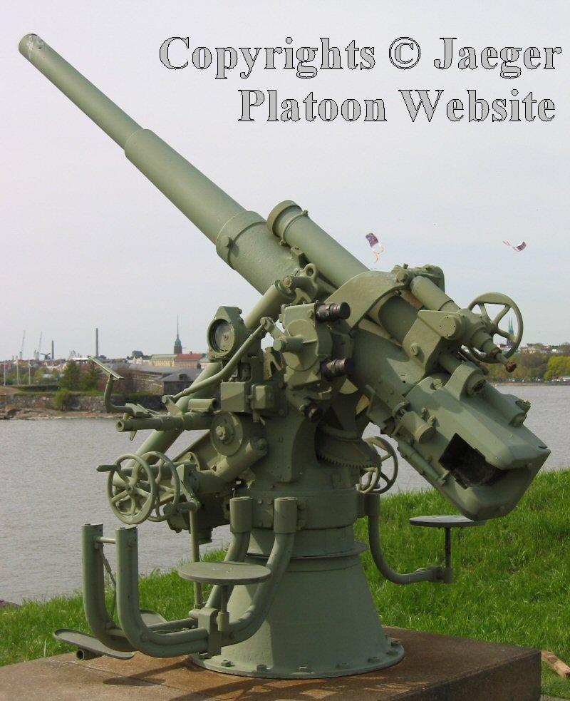 Anti-aircraft Gun Round Fixed Anti-aircraft Gun