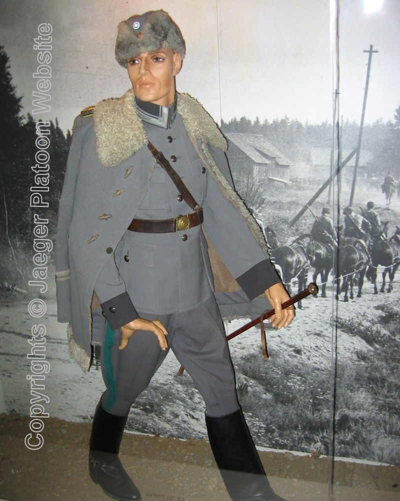 cb730fac941 PICTURE  Finnish Army infantry Major in reserves with fur overcoat m 22.  Notice lamb fur and oblong wooden buttons of the overcoat.