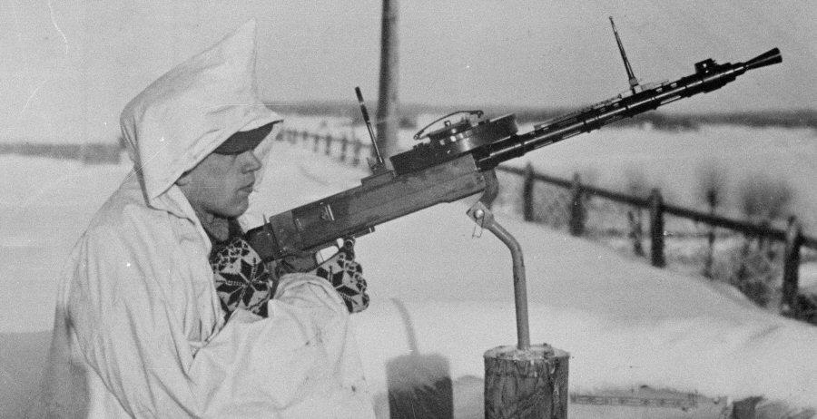 FINNISH ARMY 1918 - 1945: ANTIAIRCRAFT MACHINEGUNS