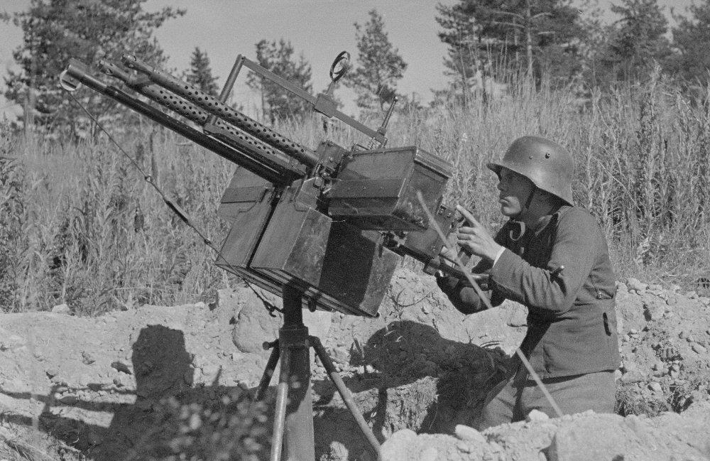 Finnish Army 1918 1945 Antiaircraft Machineguns