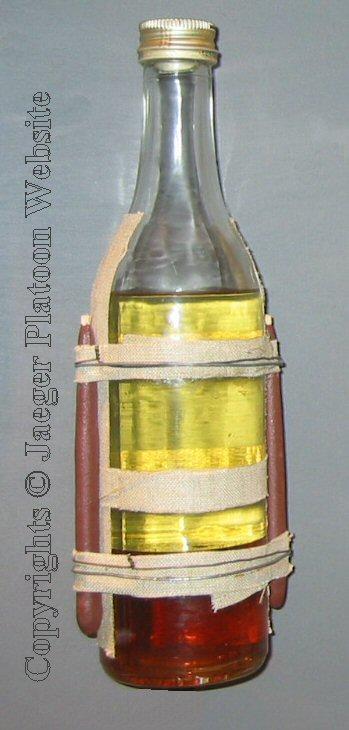 ...бутылка с Коктейлем Молотова.  В химической зажигательной бутылке...