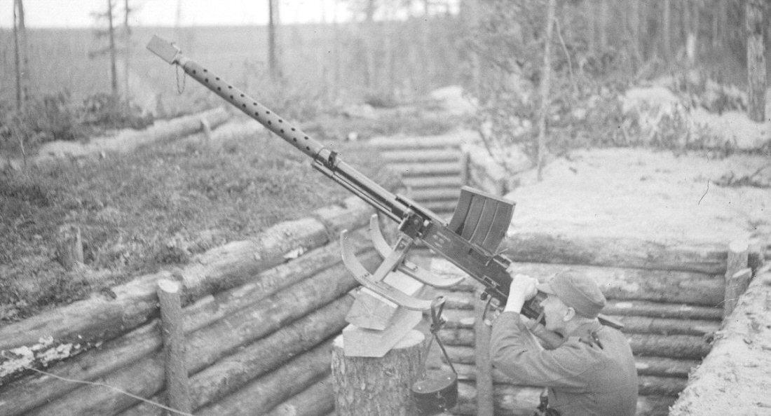 Anti-aircraft Gun Shell Anti-aircraft Gun-mount