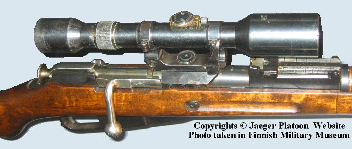 FINNISH ARMY 1918 - 1945: RIFLES PART 7