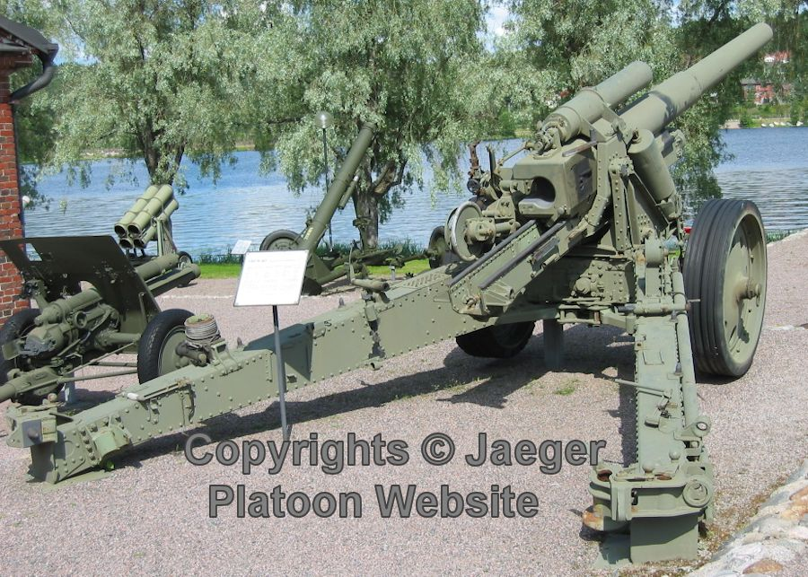 FINNISH ARMY 1918 - 1945: ARTILLERY PART 6