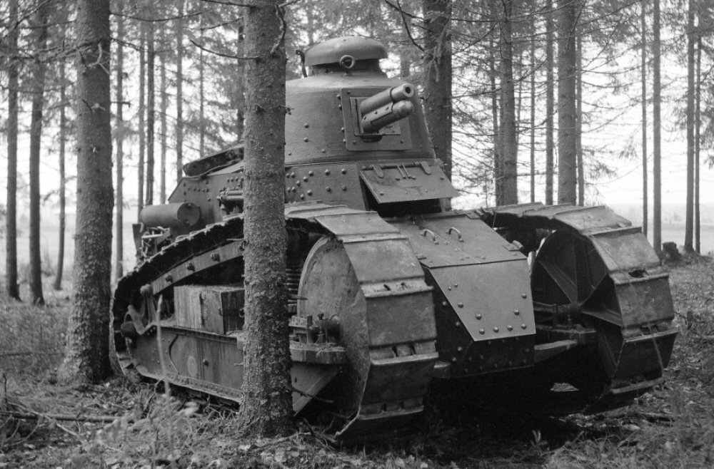 Finnish Army 1918 1945 Renault Ft 17 Tanks