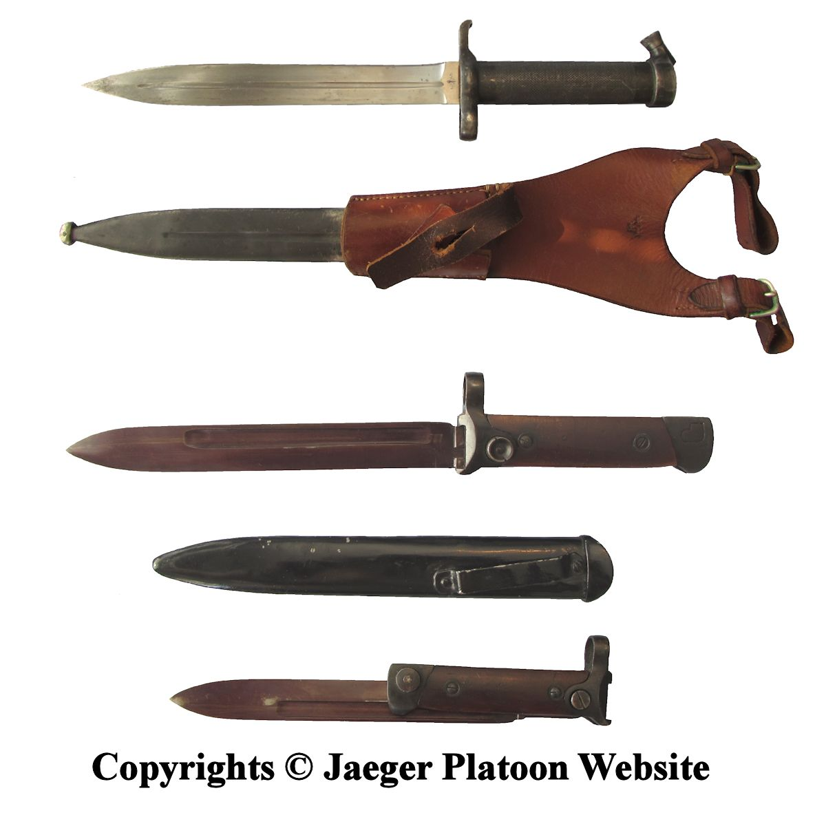 Finnish Army 1918 1945 Bayonets And Puukko Knives